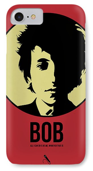 Bob Poster 1 IPhone Case by Naxart Studio