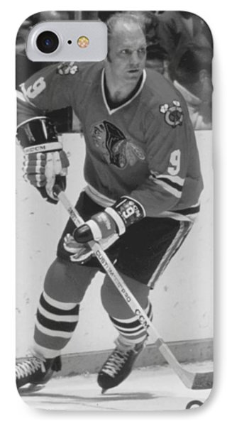 Bobby Hull Poster IPhone Case by Gianfranco Weiss