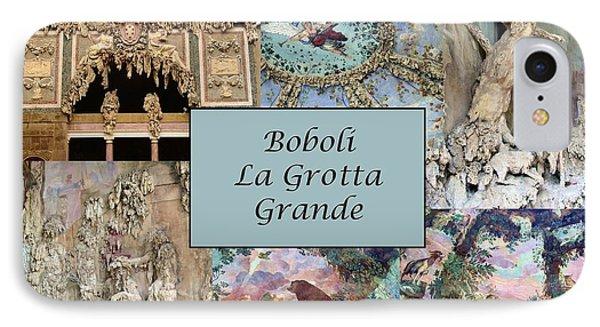 Boboli La Grotta Grande 1 Phone Case by Ellen Henneke