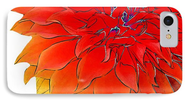 Bob's Flower IPhone Case by Cindy Edwards