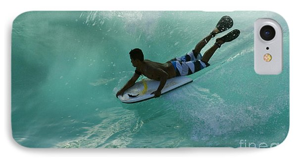 Body Surfer IPhone Case by Bob Christopher