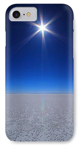 Bolivian Salt IPhone Case by FireFlux Studios