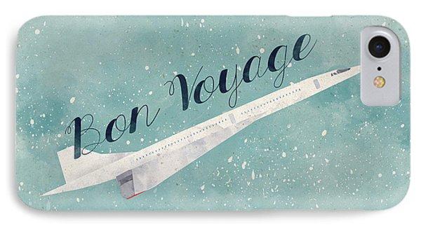 Bon Voyage IPhone 7 Case by Randoms Print