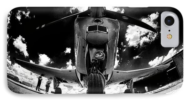 Bonanza In Black And White IPhone Case by Paul Job