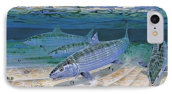Bonefish Flats In002 IPhone Case by Carey Chen