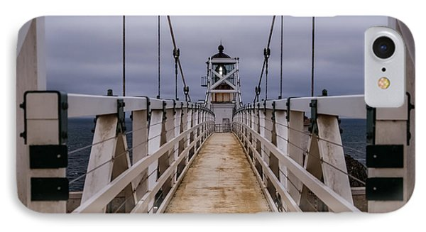 Bonita Point Lighthouse IPhone Case by Mike Ronnebeck