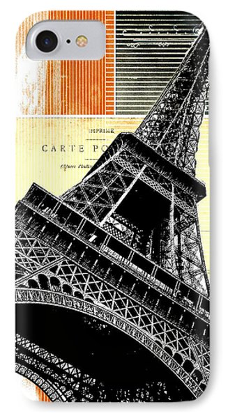 Bonjour Paris  IPhone Case by Steven  Taylor