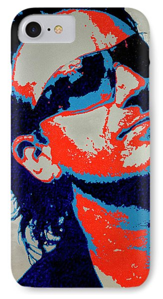 Bono IPhone Case by Barry Novis