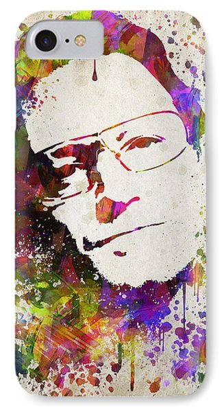 Bono In Color IPhone Case by Aged Pixel