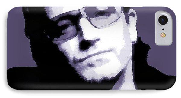 Bono Portrait IPhone 7 Case by Dan Sproul