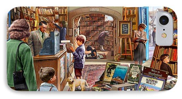 Bookshop IPhone Case by Steve Crisp