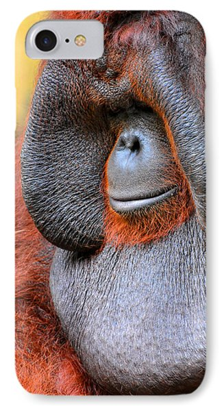 Bornean Orangutan Vi IPhone 7 Case by Lourry Legarde