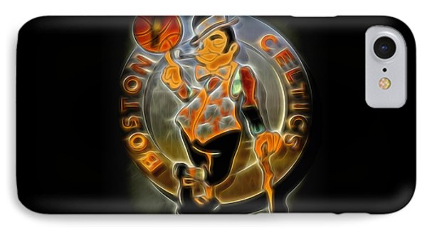 Boston Celtics Logo IPhone 7 Case by Stephen Stookey