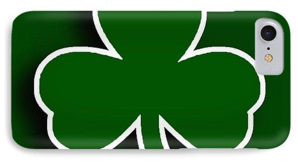Boston Celtics Phone Case by Tony Rubino