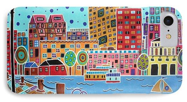 Boston Harbor IPhone Case by Karla Gerard