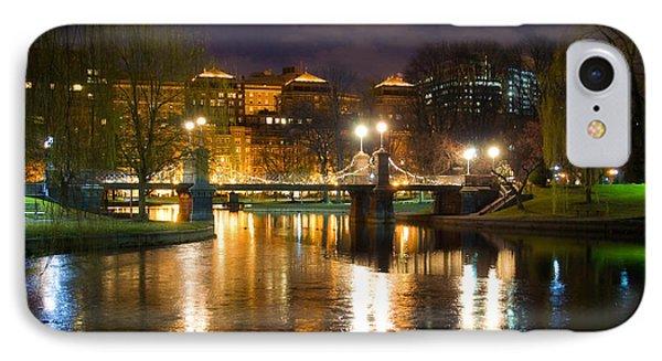 Boston Lagoon Bridge Phone Case by Joann Vitali