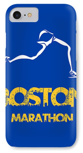 Boston Marathon2 IPhone 7 Case by Joe Hamilton