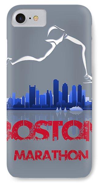 Boston Marathon3 IPhone Case by Joe Hamilton