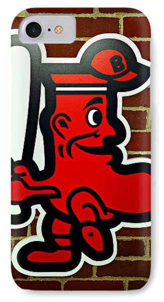 Boston Red Sox 1950s Logo Phone Case by Stephen Stookey