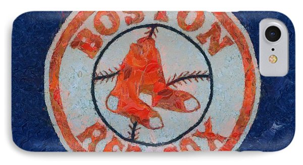 Boston Red Sox IPhone Case by Dan Sproul