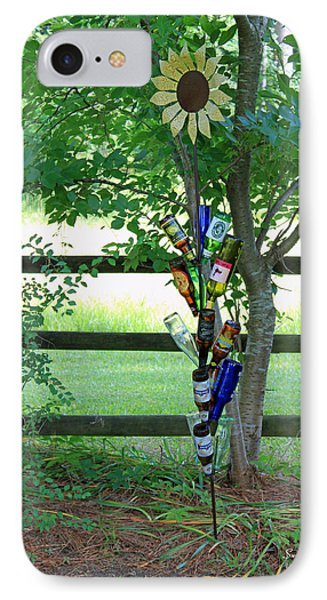 Bottle Tree Phone Case by Suzanne Gaff