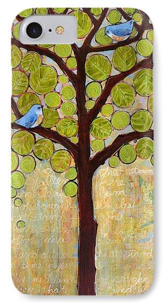 Boughs In Leaf Tree IPhone 7 Case by Blenda Studio