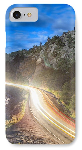 Boulder Canyon Neon Light  Phone Case by James BO  Insogna