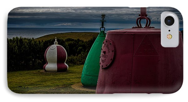 Bouy's Lizard Lighthouse IPhone Case by Martin Newman
