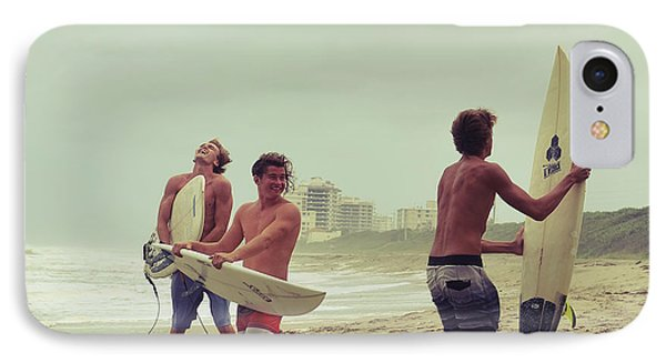 Boys Of Summer IPhone Case by Laura Fasulo
