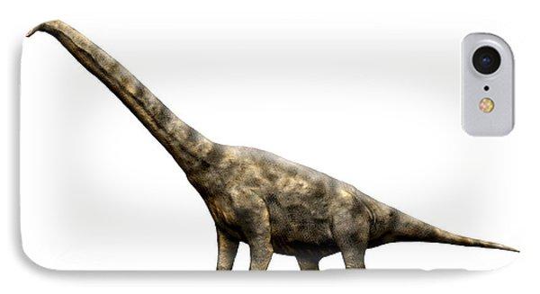 Brachiosaurus Dinosaur IPhone Case by Nobumichi Tamura