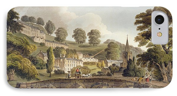 Bradford, From Bath Illustrated Phone Case by John Claude Nattes