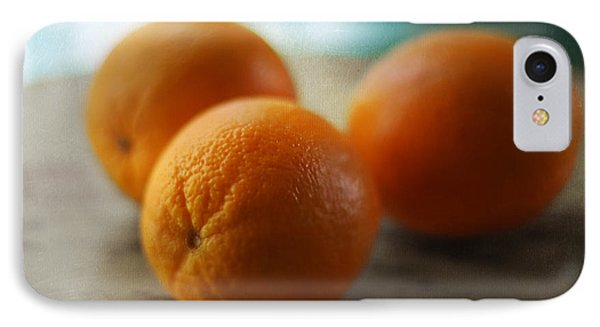 Breakfast Oranges IPhone Case by Amy Tyler