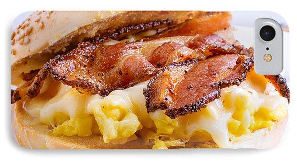 Breakfast Sandwich IPhone Case by Edward Fielding