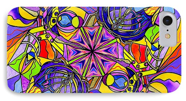 Breaking Through Barriers IPhone Case by Teal Eye  Print Store