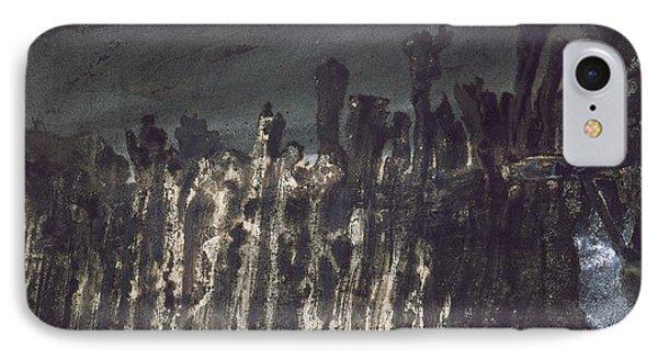 Breakwater In Jersey Phone Case by Victor Hugo