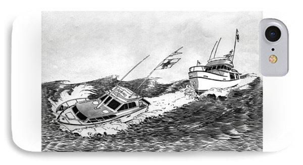 Navigation Contest Bremerton Heavy Weather IPhone Case by Jack Pumphrey