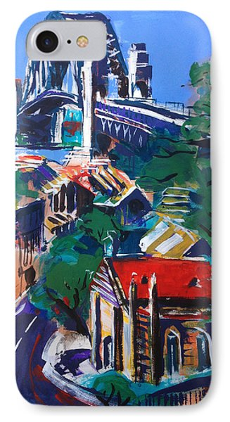 Bridge Observed Phone Case by Shirley  Peters