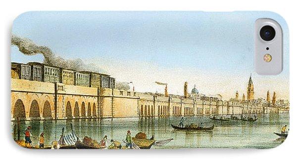 Bridge Over The Lagoon IPhone Case by Giovanni Pividor