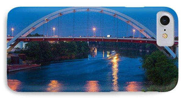 Bridge Reflections Phone Case by Robert Hebert