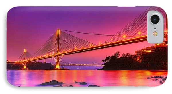 Bridge To Dream IPhone Case by Midori Chan