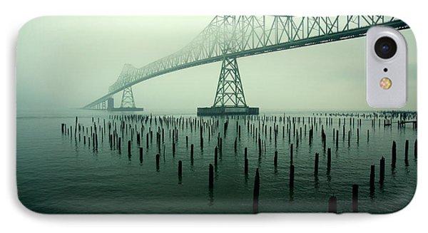 Bridge To Nowhere IPhone Case by Todd Klassy