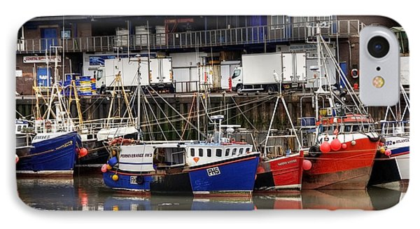 Bridlington Marina Phone Case by Svetlana Sewell
