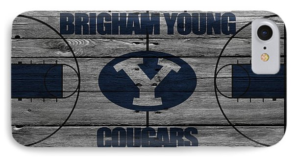 Brigham Young Cougars IPhone Case by Joe Hamilton