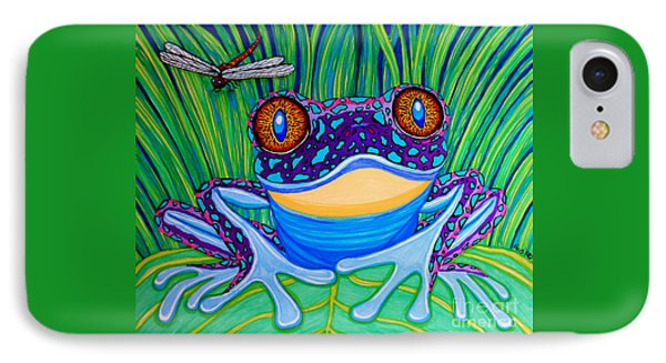 Bright Eyed Frog IPhone Case by Nick Gustafson