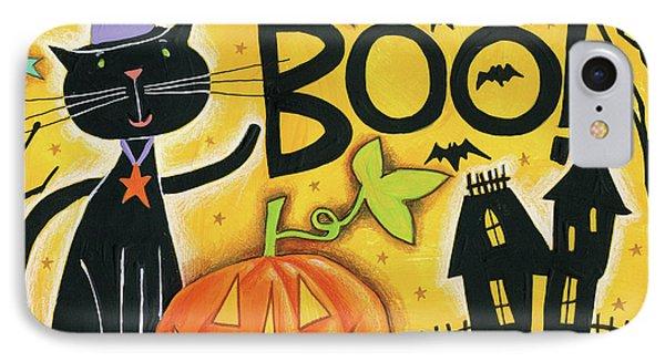 Bright Halloween II IPhone Case by Anne Tavoletti