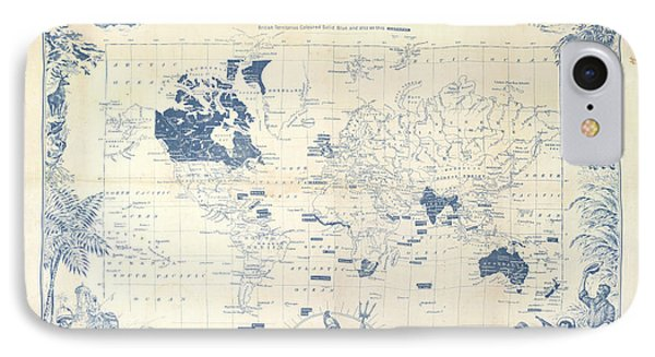 British Empire Map IPhone Case by British Library