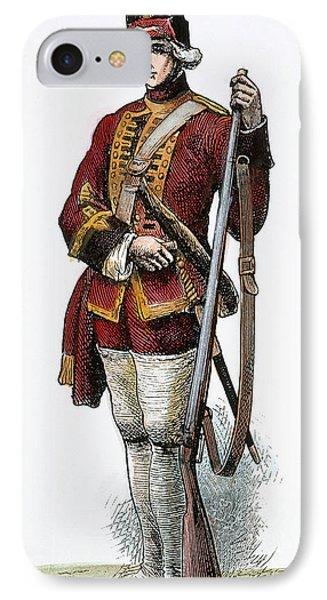 British Grenadier, 18th C IPhone Case by Granger