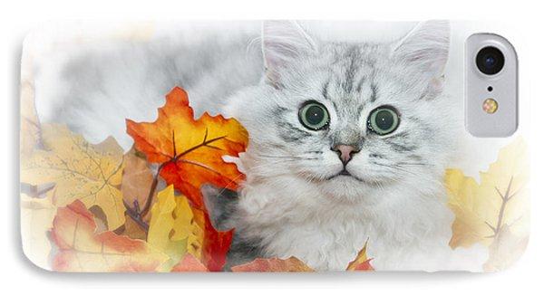 British Longhair Cat Phone Case by Melanie Viola