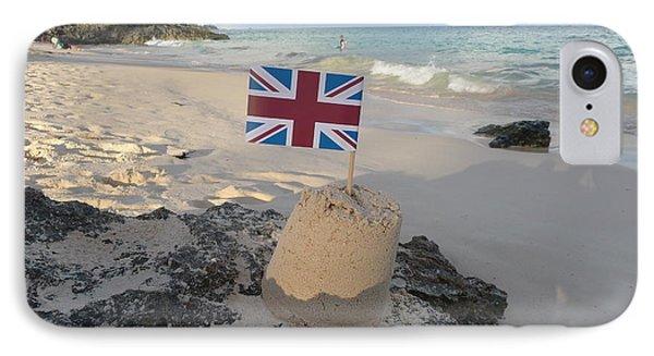 British Sandcastle Phone Case by Richard Reeve