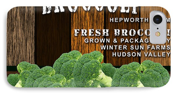 Broccoli Farm IPhone Case by Marvin Blaine